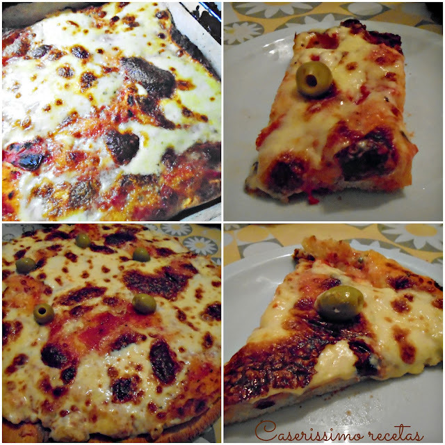 PIZZA DE LA ABUELA AURORA , LA MEJOR PIZZA CASERA!! Paso a paso: masa, salsa y armado!
