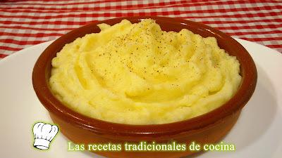 Receta del Puré de Patatas