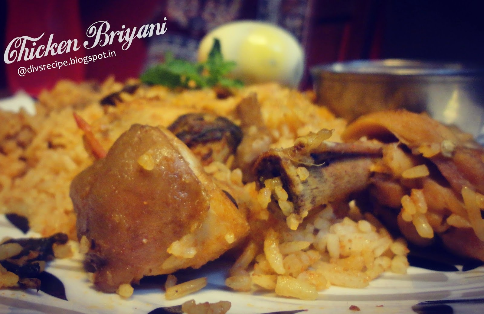Chicken Briyani ( Simple & Basic method )