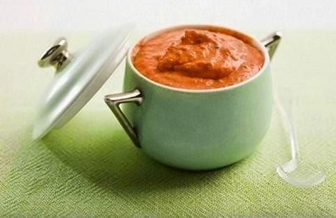 Salsa de pimientos sin nata rapida