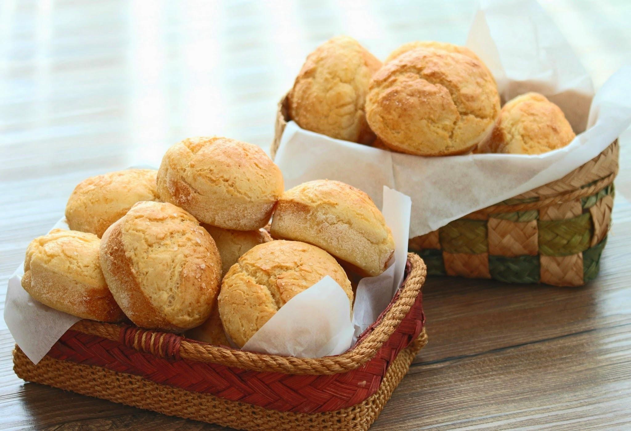 pãezinhos de batata (sem glúten)
