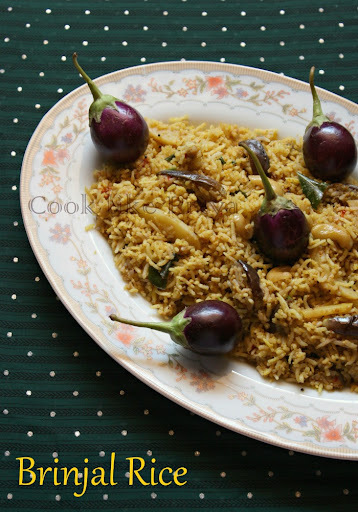 Vangi Bhath | Brinjal Rice Recipe | Lunch box recipe