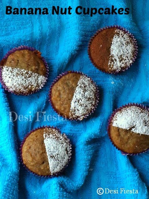 Banana Nut Cupcakes / Muffins