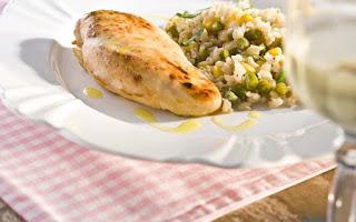www. de arroz temperado com peito de frango