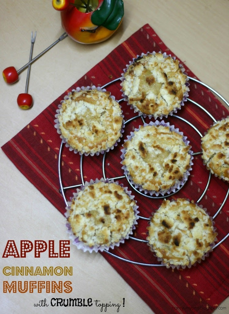 apple and cinnamon muffins without eggs by tarala dalal