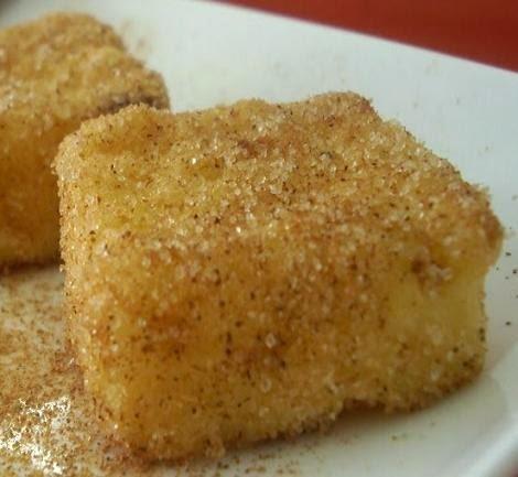 Receta de Leche frita tradicional y facil