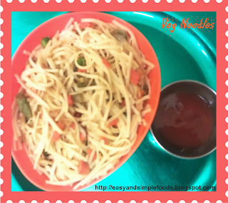 Simple Veg Noodles