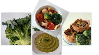 Brokula - juha, salata i ražene košarice punjene brokulom, shitake gljivama i svježim sirom