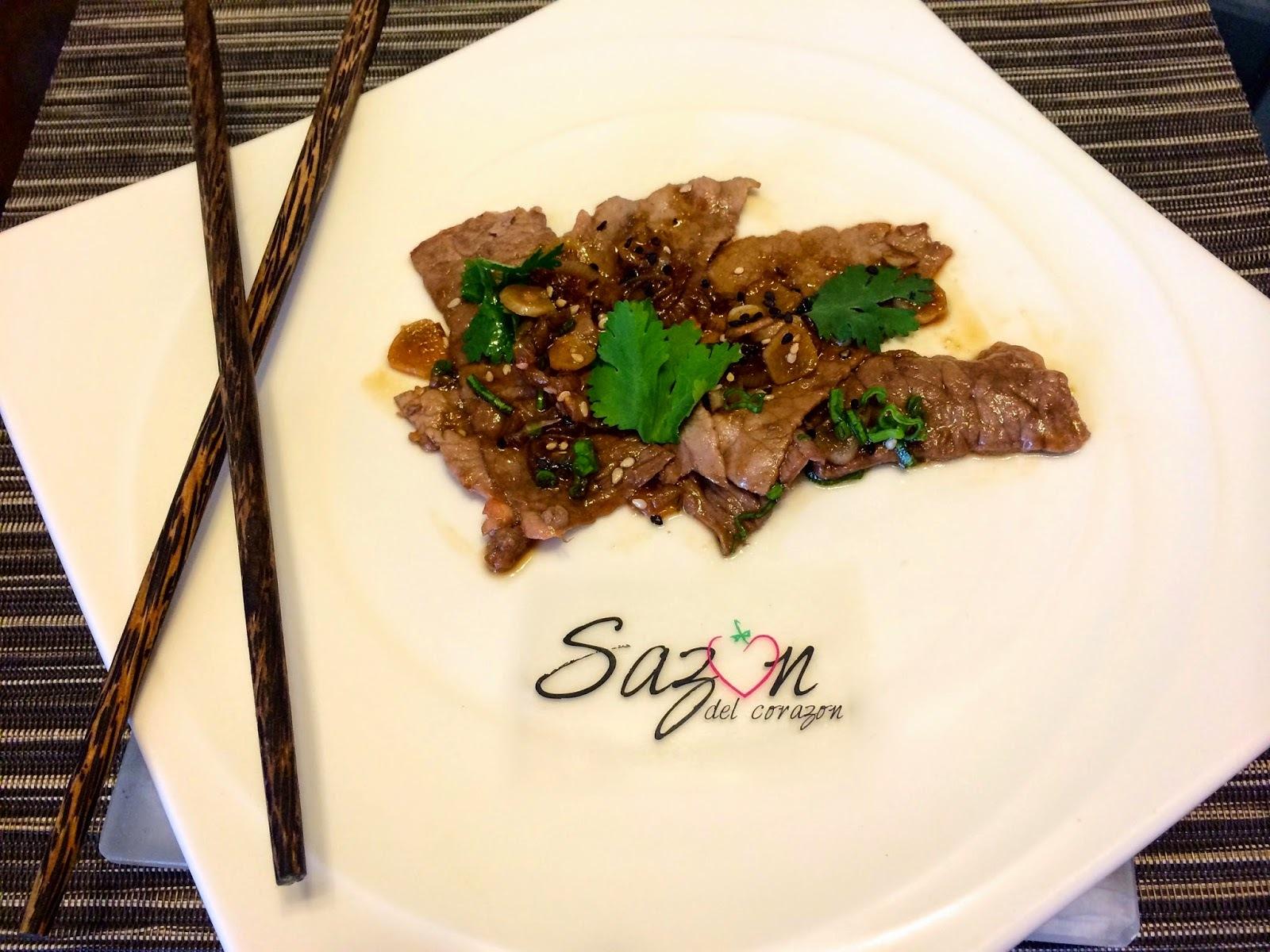 Carne a la soya