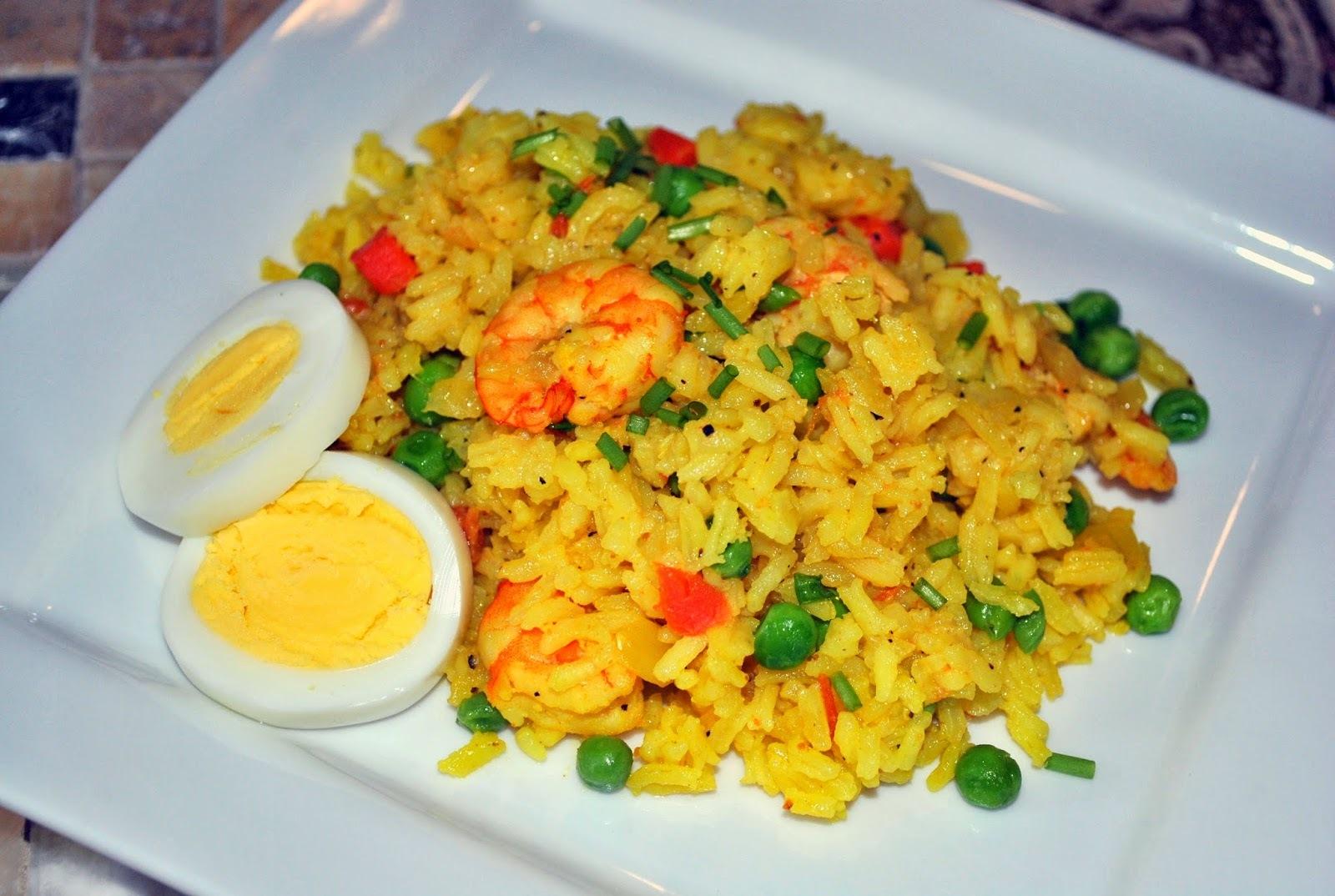 Spanish Shrimp Rice