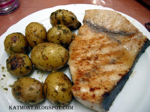 peixe na chapa com legumes