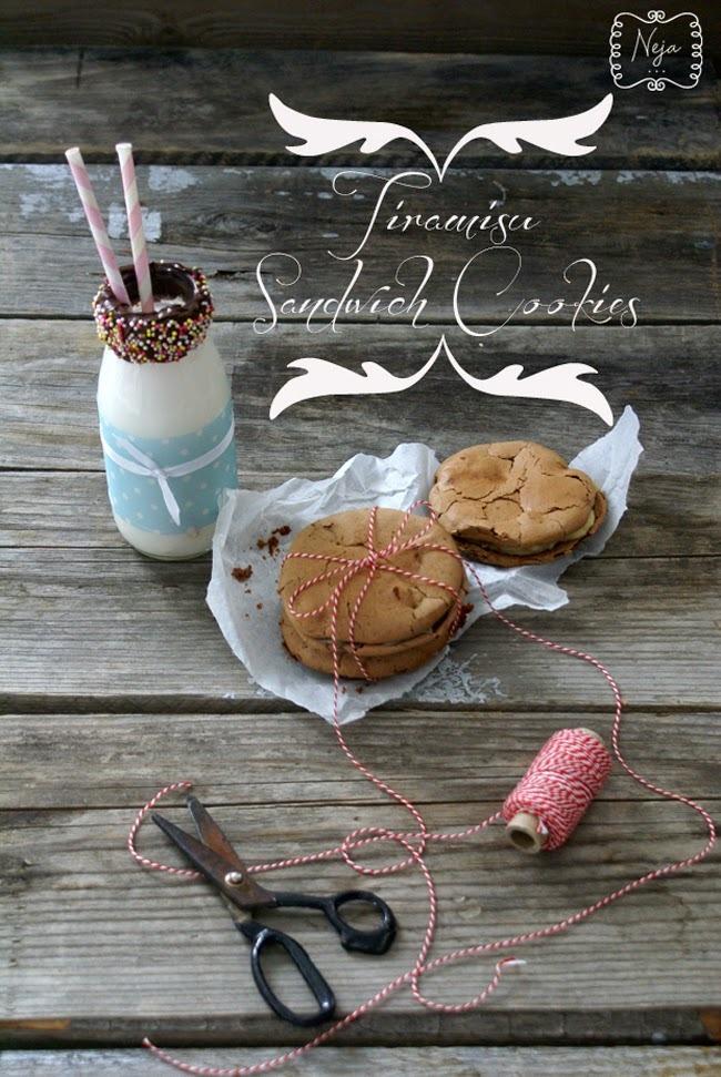Tiramisu Sandwich Cookies / Tiramisu piškoti
