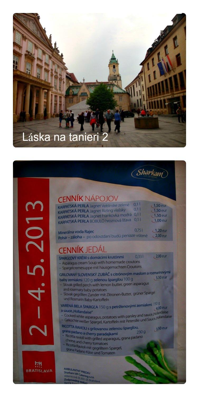 Špargľové dni v Bratislave, 02. - 04. 05. 2013 :-)
