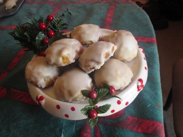 Pfeffernusse Christmas cookies     (Otra receta de galletas alemanas II)