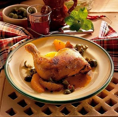 Como cocinar pollo a la naranja