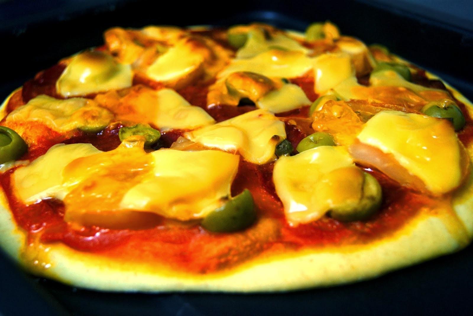 Pizza Casera de Pepperoni