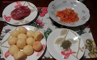 Panini de Salame.