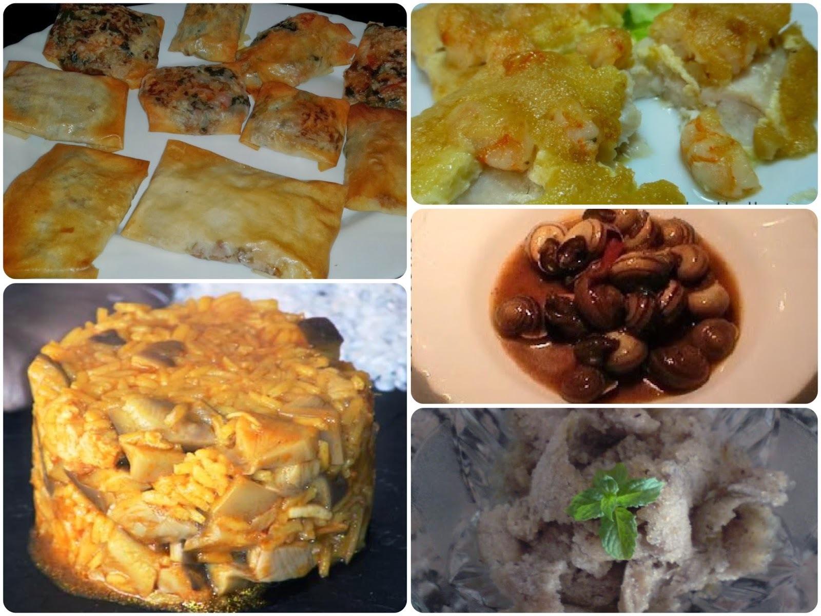 Menú con Cinco Recetas nº 15