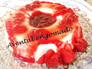 sobremesa de gelatina com iogurte natural facil