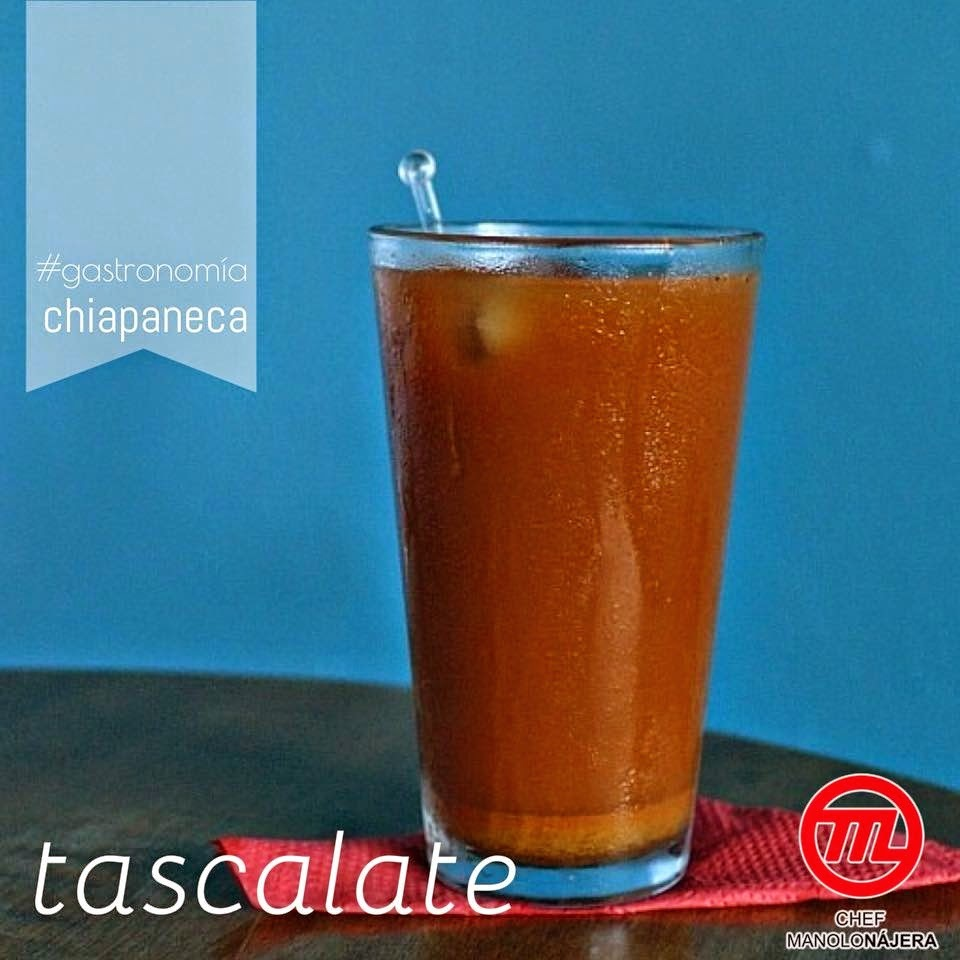 TASCALATE una bebida chiapaneca muy refrescante.