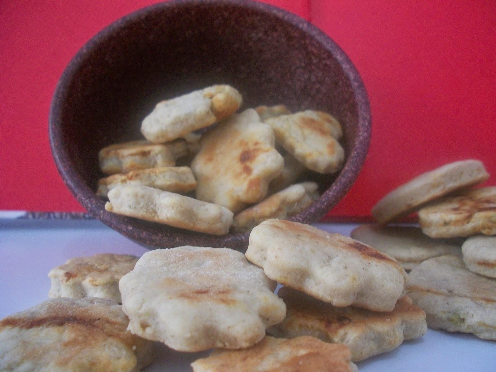 Biscoitos de batata doce - Sweet potato biscuits