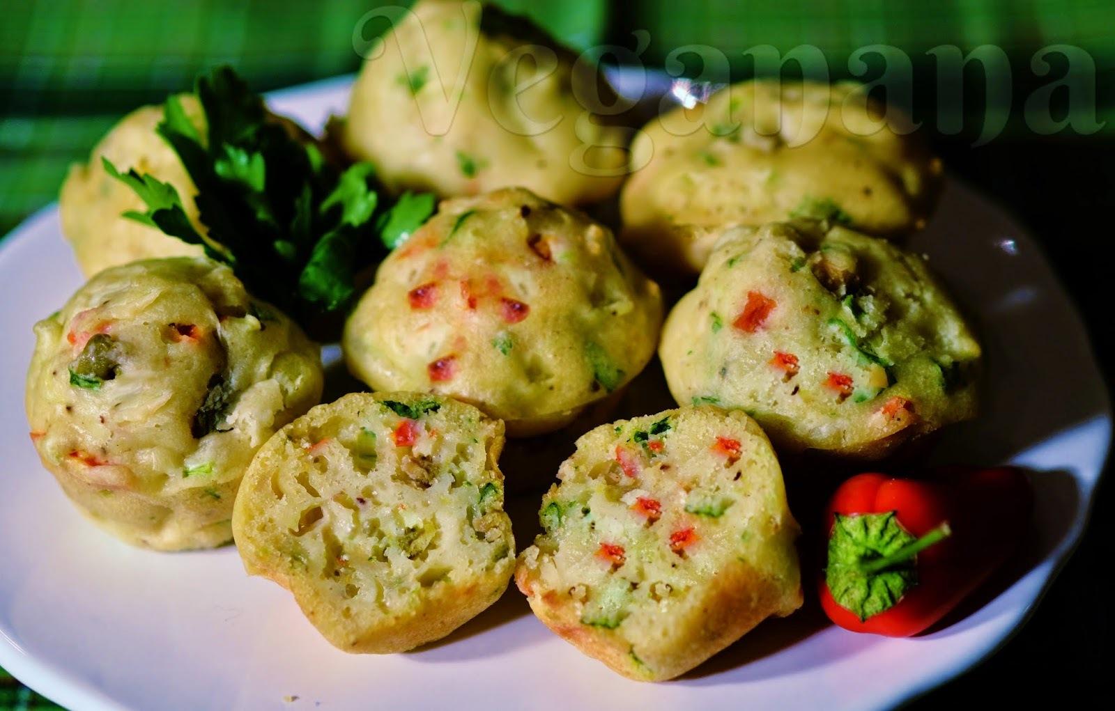 muffin salgado bem fofinho