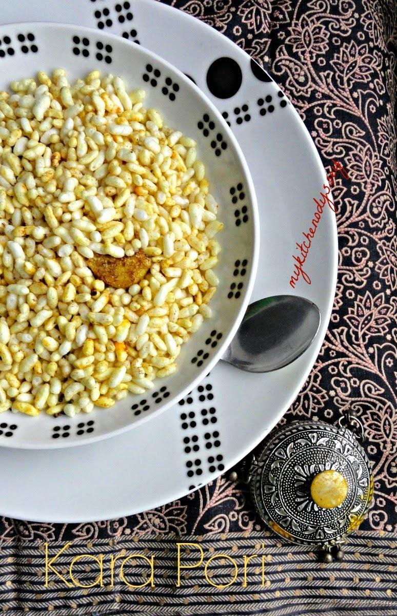 Kara Pori Puffed Rice Recipe