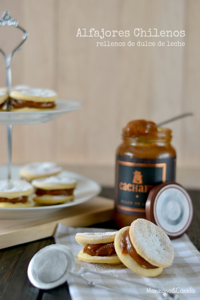 alfajor con chancaca