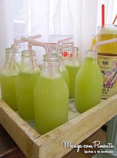 limonada suiça com limão siciliano