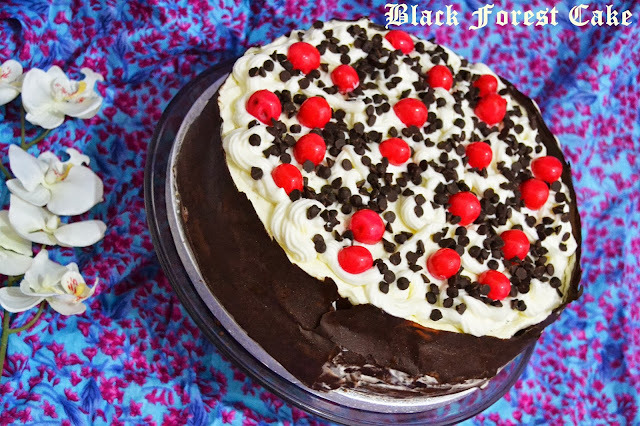 The Story of a Black Forest Cake...