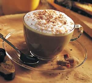 cappuccino shake gelado