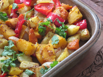 Spicy Indian Roasted Vegetables