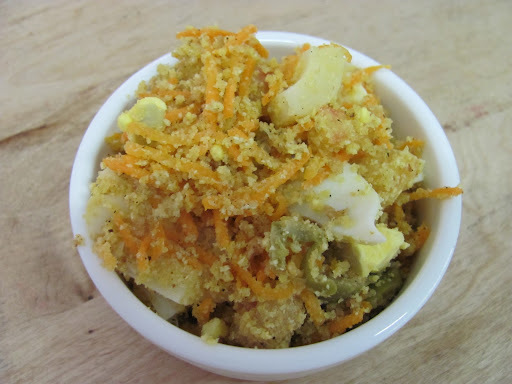 farofa fria de cenoura