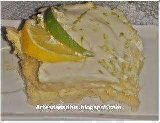 pave de limão com bolacha maizena