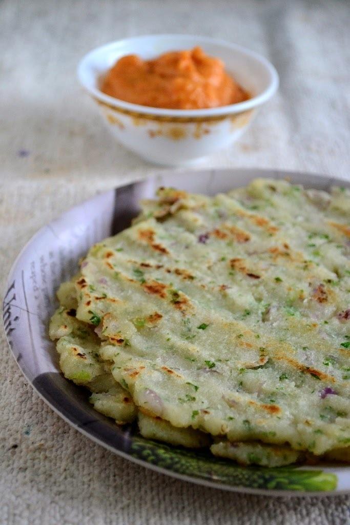 Akki Roti- Karnataka