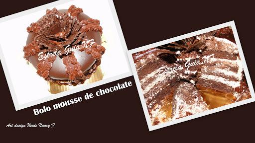 Bolo Mousse de Chocolate 1