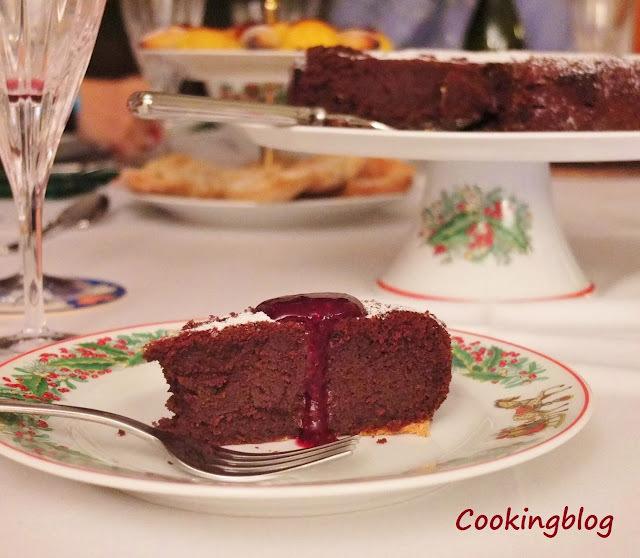 Bolo de chocolate da Katie |  Katie's Chocolate cake