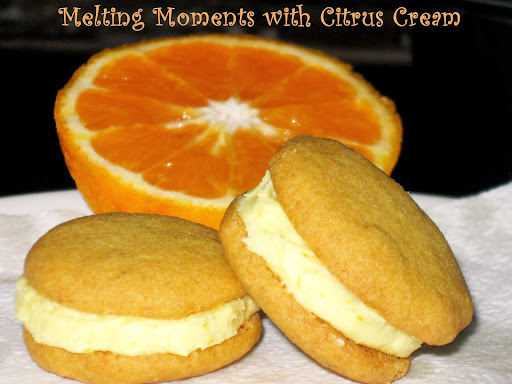 Melting Moments with Citrus Cream