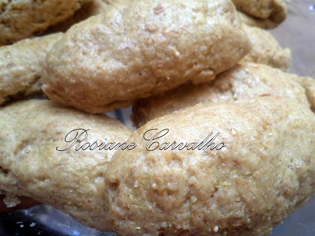 Pãozinho de Quinoa e castanhas do pará