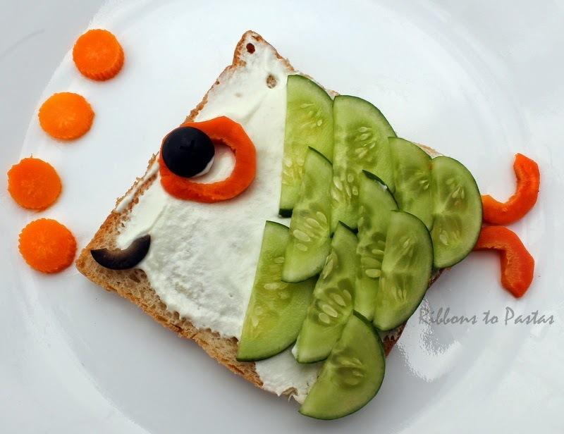 Food Craft -  Open Fish Sandwich