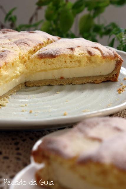 Torta de limão irresistível