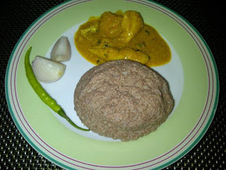 Sankati & Chicken Curry