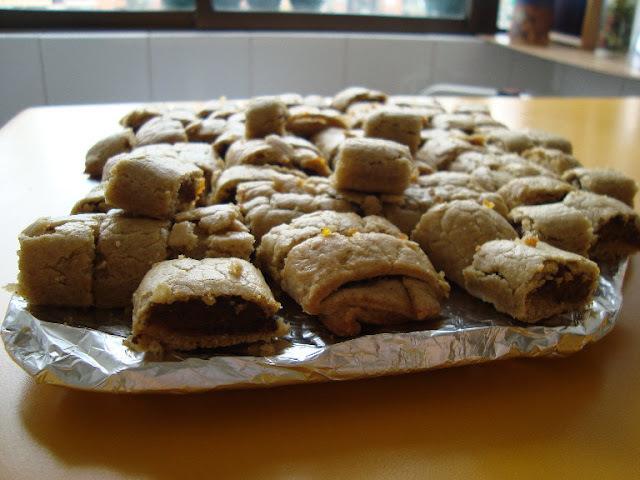 Galletas rellenas con mermelada de ciruela Diet
