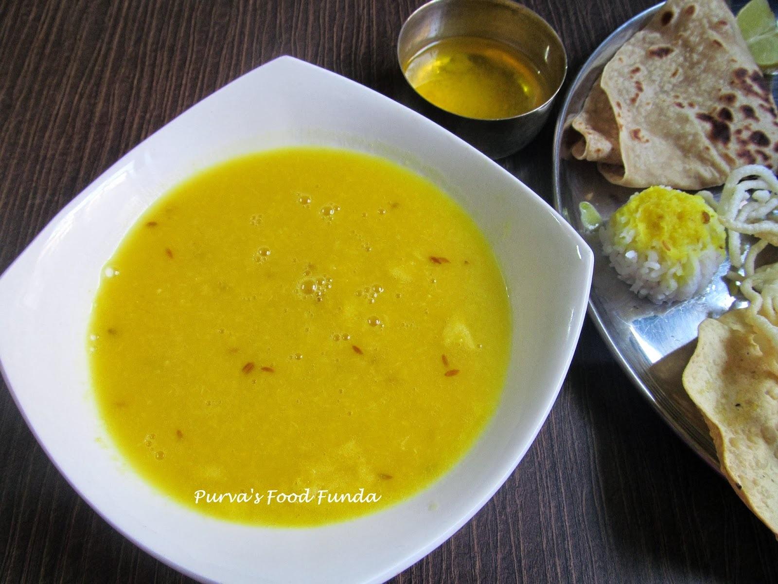 Sadh Varan / Goda Varan (Maharastrian Plain Dal )