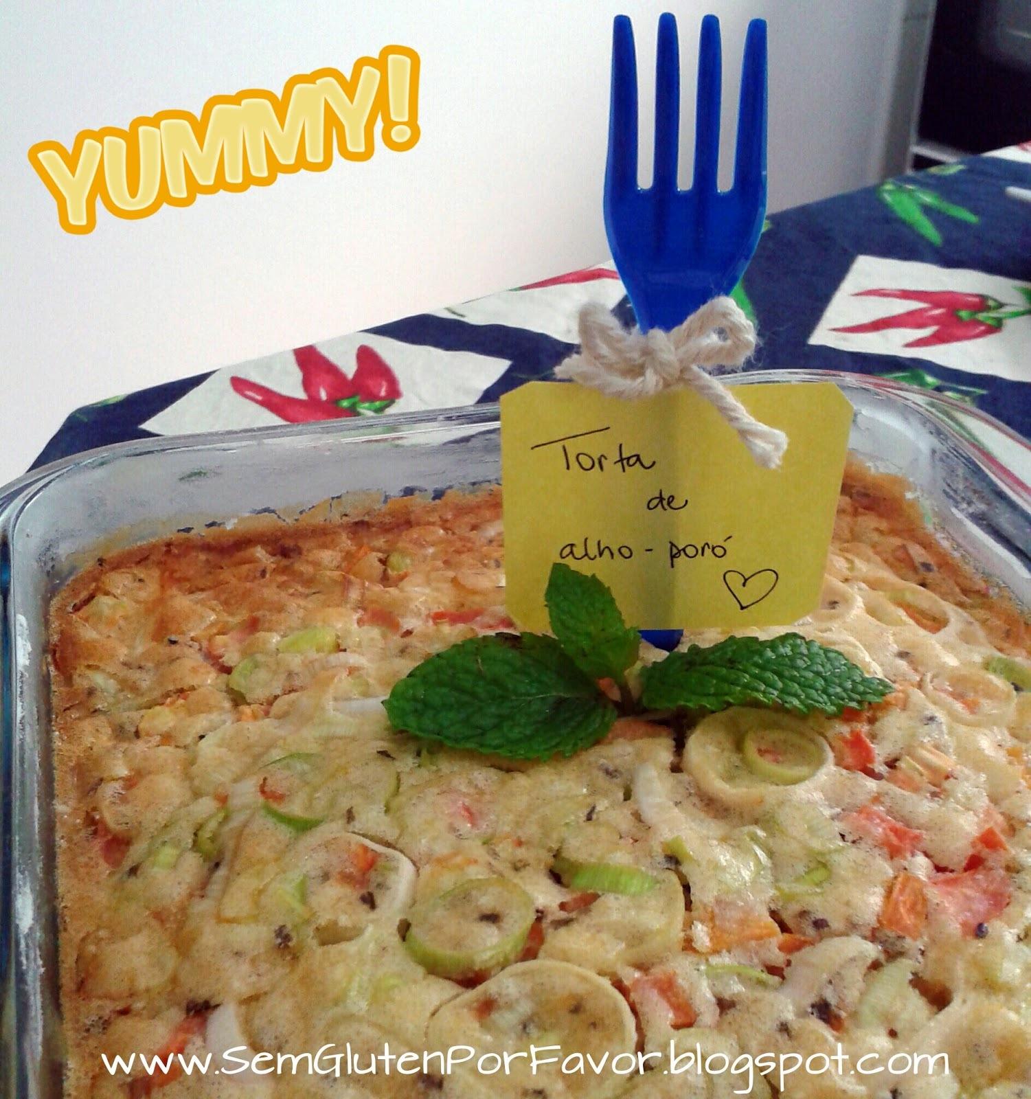 Receita de hoje: torta salgada feita sem liquidificador ou batedeira