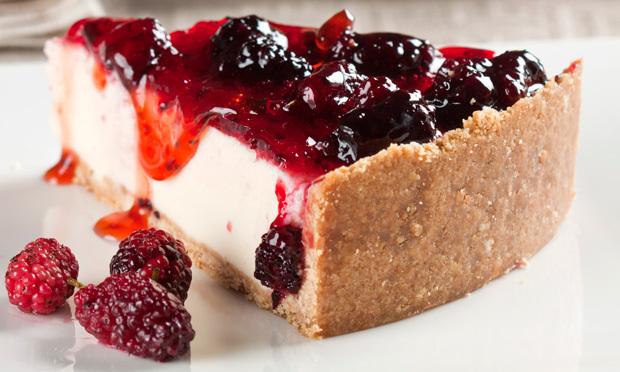 Torta de Amoras com Iogurte - receita