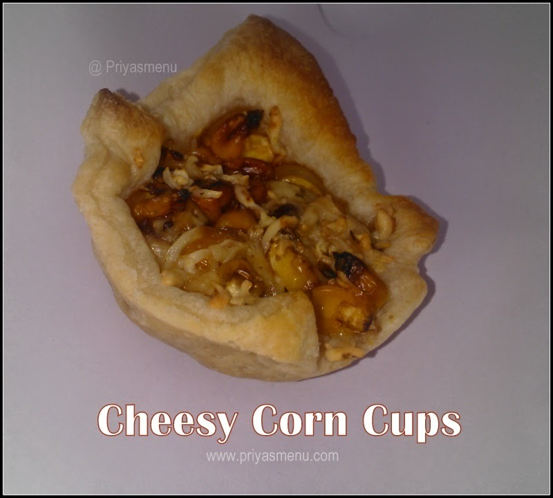cheesy Corn cups