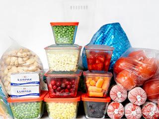 Como congelar alimentos preparados em casa