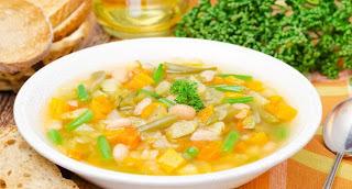 Sopa de Legumes com Quinoa