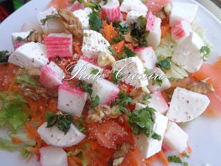 Salada com sabor a verão